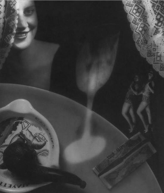 Iwata Nakayama- Composition , photomontage, 1935