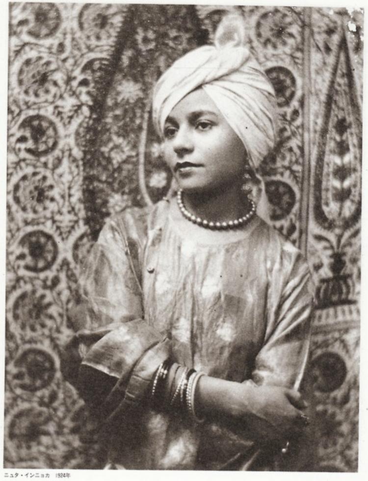 Iwata Nakayama - ニュタ・インニョカ Nioûta-In'nyoka ( serie l 'ère de New York), 1924 from Photo magazine japoN, issue 26