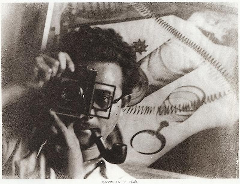 Iwata Nakayama - self portrait, 1933 from Photo magazine japo, issue 26