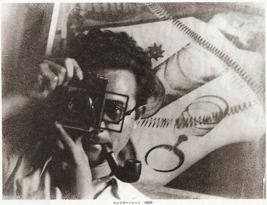 Iwata Nakayama - self portrait, 1933 from Photo magazine japo, issue 26