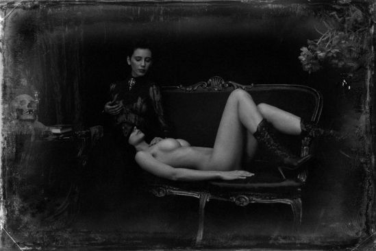 Malika Mokadem- Vertue and vice 2, 2011