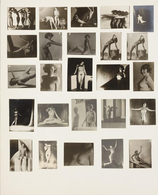 František Drtikol - A collection of 100 nude studies, c. 1915-1930 from František Drtikol, Pracouní kniha fotografií, hrsgg. v. Stanislav Doleža