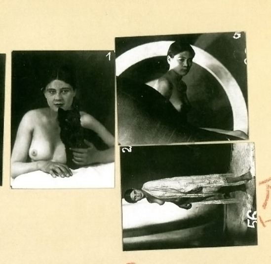 Frantisek Drtikol - plate from Workbook of Photographs . Svet publishers, 2006
