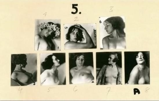 Frantisek Drtikol - plate from Workbook of Photographs . Svet publishers, 2006