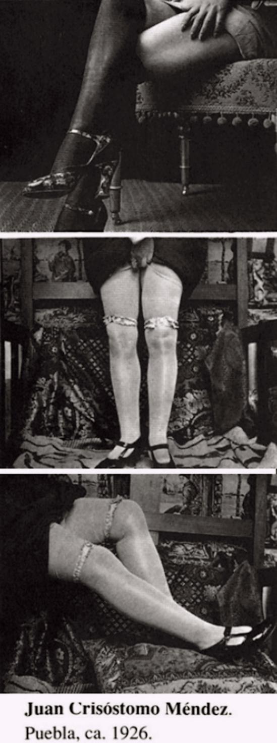 Juan Crisóstomo Méndez Ávalos- 3 planches jambes  Puebla, 1926