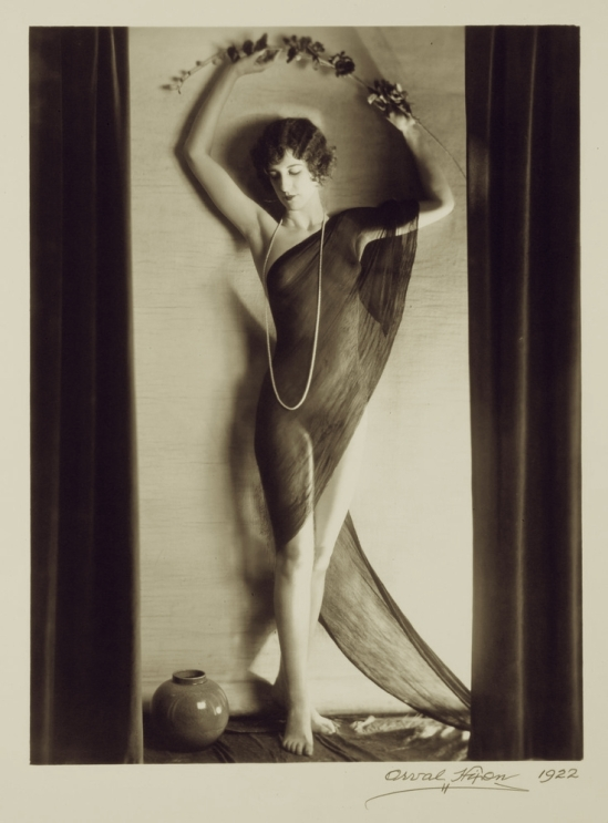 Orval Hixon -Beth Beri 1922 Figure Study (Front) By KC Artist Photographer Orval Hixon