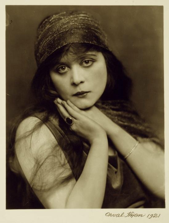 Orval  Hixon-G. Theda Bara, 1921