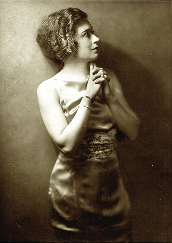 Orval Hixon- Grace La Rue,  a music hall performer , 1920