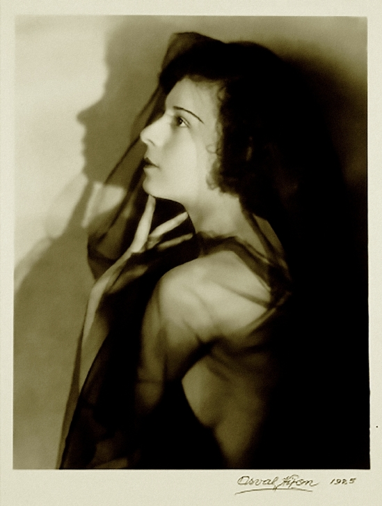 Orval Hixon -portrait of unknown female, 1925