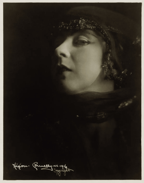 Orval Hixon  (Hixon-Connelly studio) Ruth St Denis, 1916