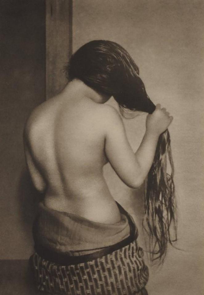 Yasuzo Nojima - Nude from Rear, 1930