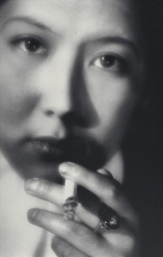 Yasuzo Nojima- Portrait à la cigarette, nd (1930's)_e