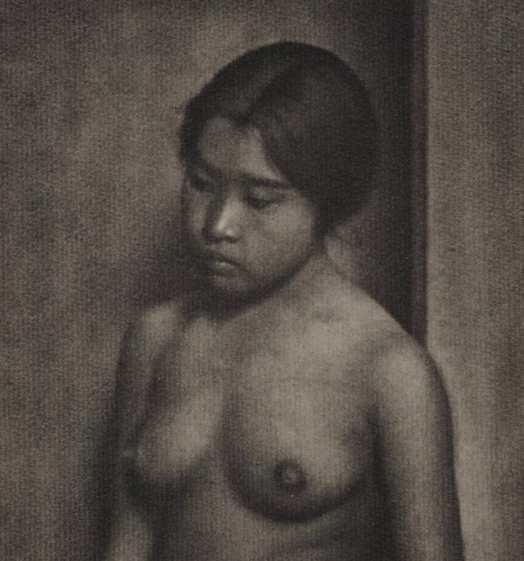 Yasuzo Nozima-femme nue, 1921gum bichromate print