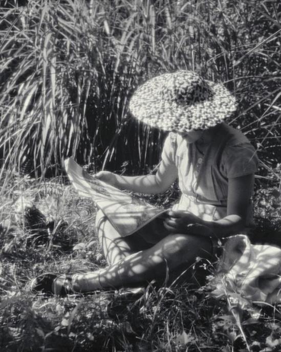 Yasuzo Nozima- Miss Tazue Sato, Karuizawa, 1939