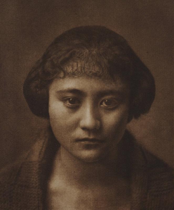 Yasuzo Nozima-Portrait , 1923