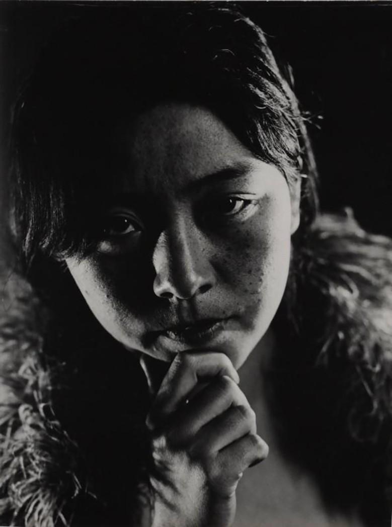 Yasuzo Nozima-Portrait, 1933 gelatin silver print