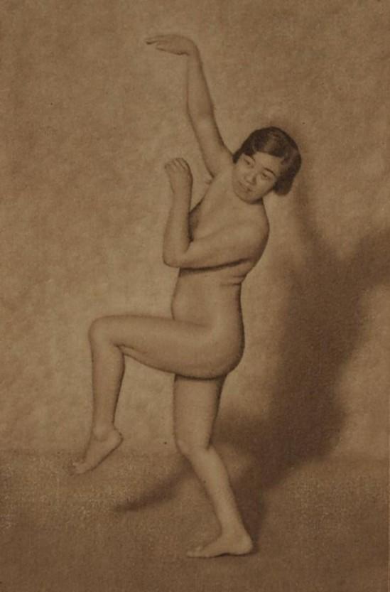 Yasuzo Nozima-Sans titre , 1920 gum bichromate print