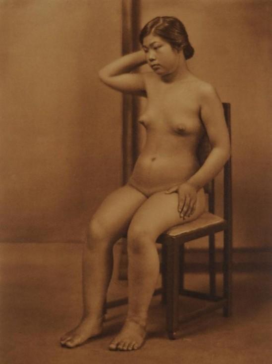 Yasuzo Nozima-sans titre , 1921gum bichromate print