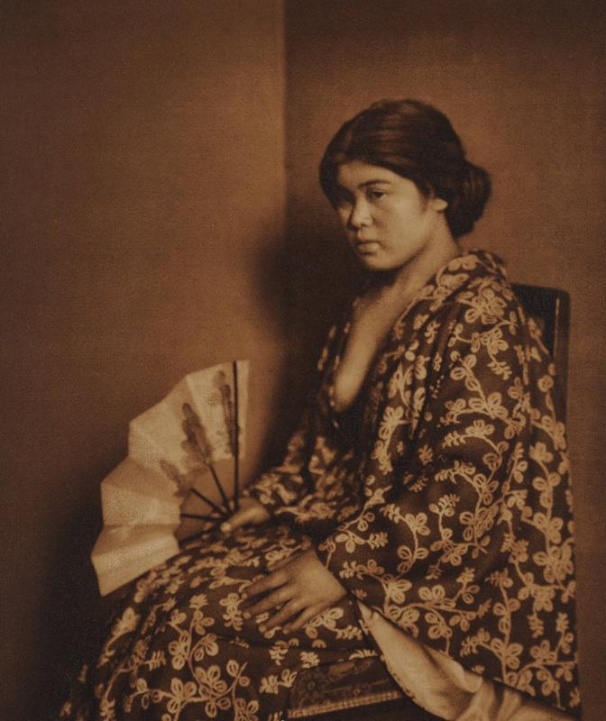 Yasuzo Nozima-Woman , 1920 gum bichromate print