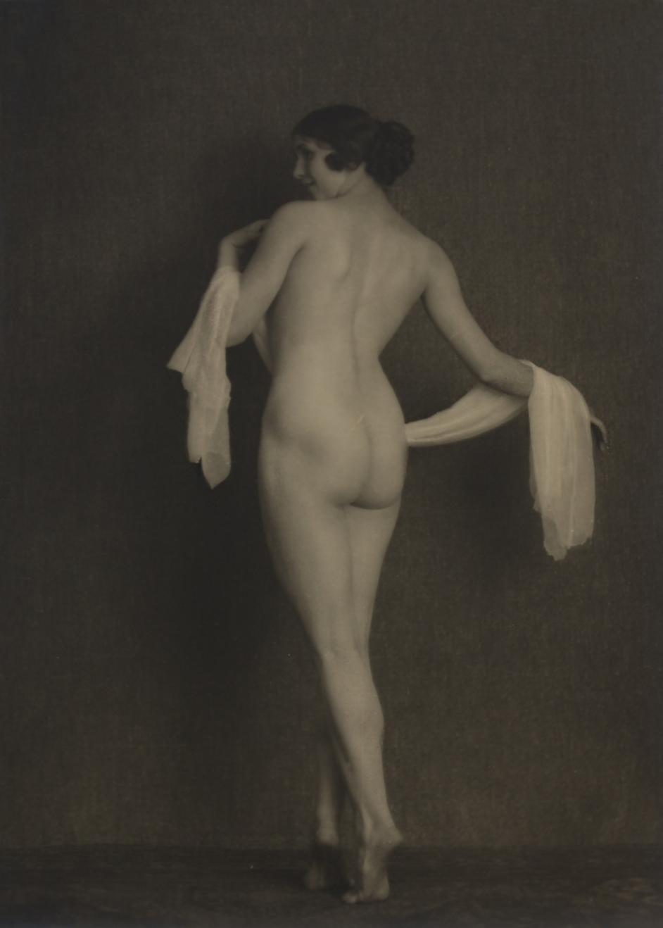 Waldemar Eide - Etude de nu (Ellen Sinding), 1922_e