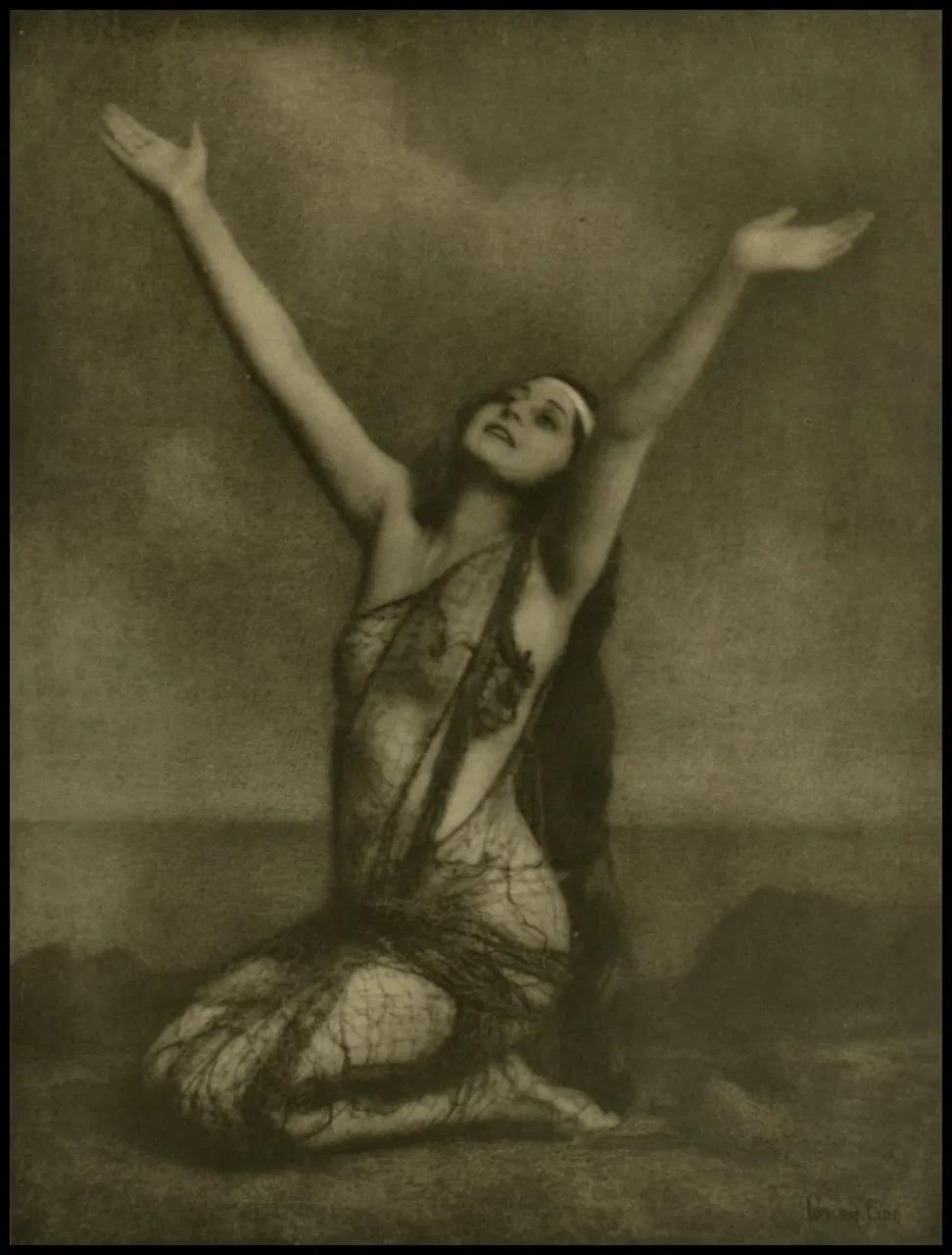 Waldemar Eide Illustration for a fairy 1919