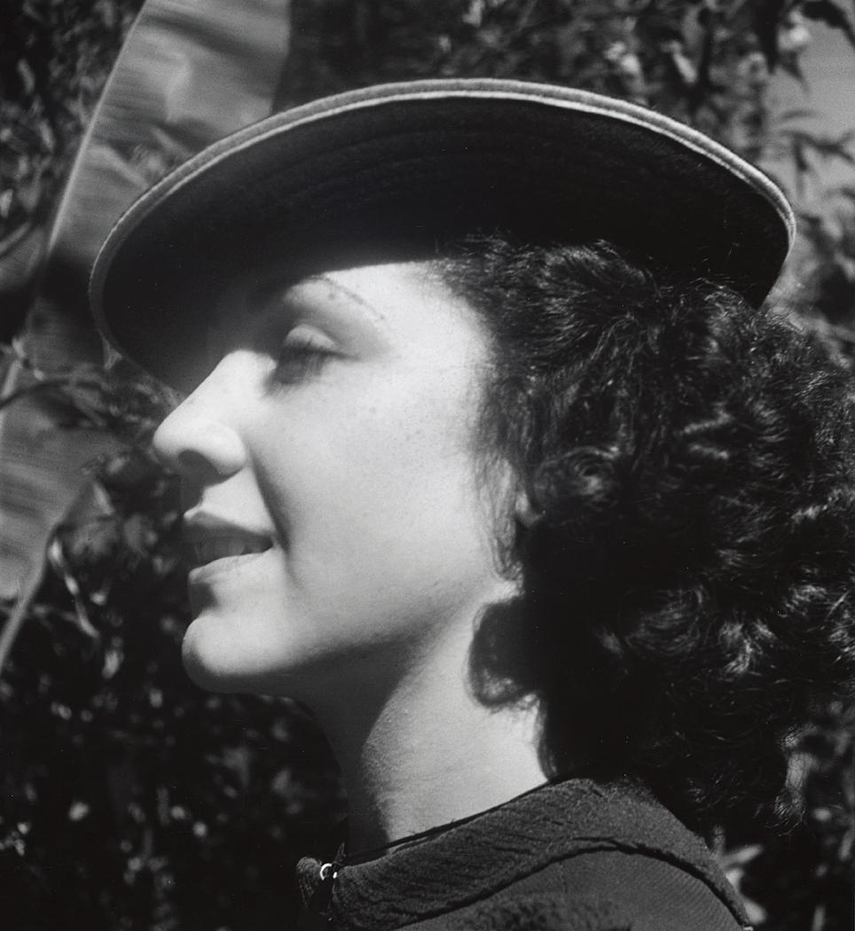 John Gutmann-Beautiful Vanessae, 1935