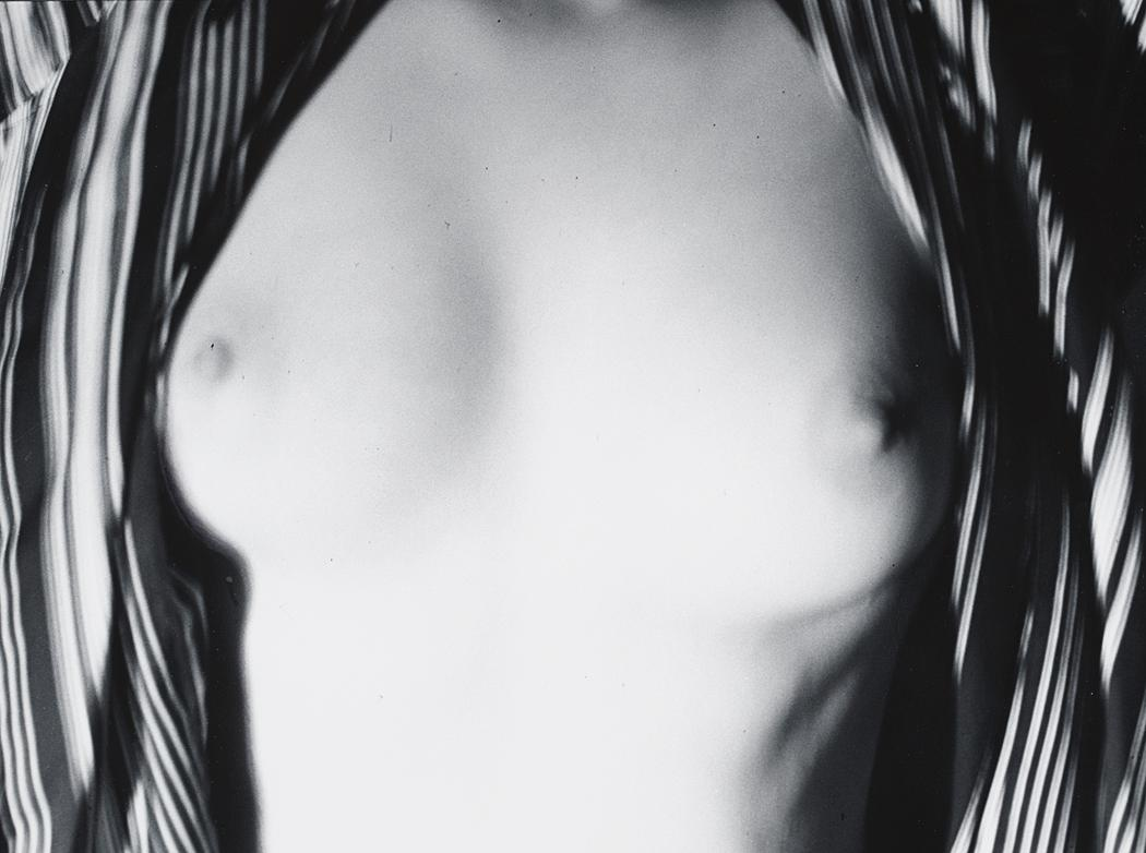 John Gutmann-Her Breasts in My Robe, 1937