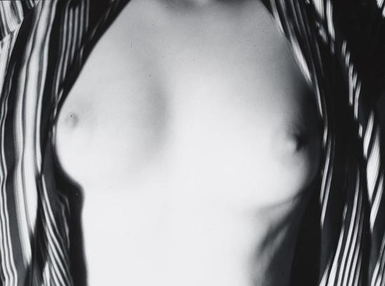John Gutmann-Her Breasts in My Robe, 1937