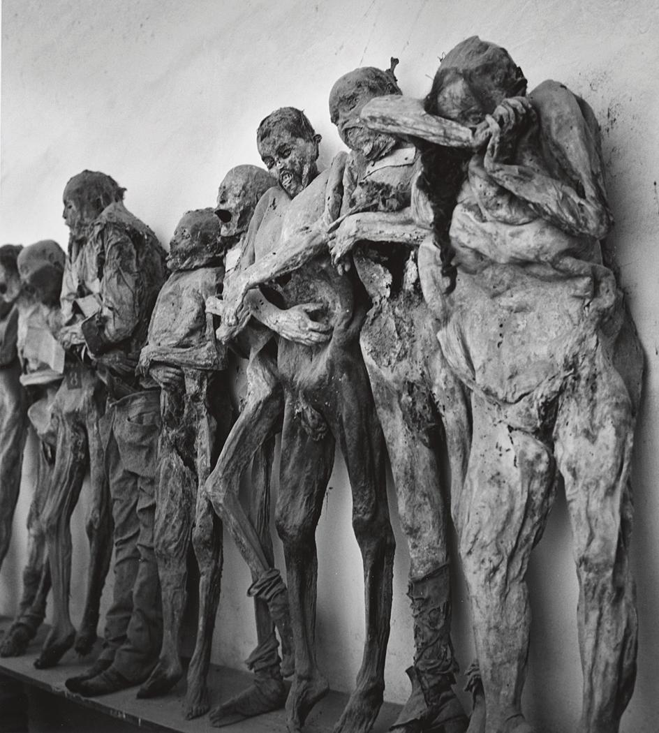 John Gutmann-Mummies in the Catacombs of Guanajuato, Mexico, 1960