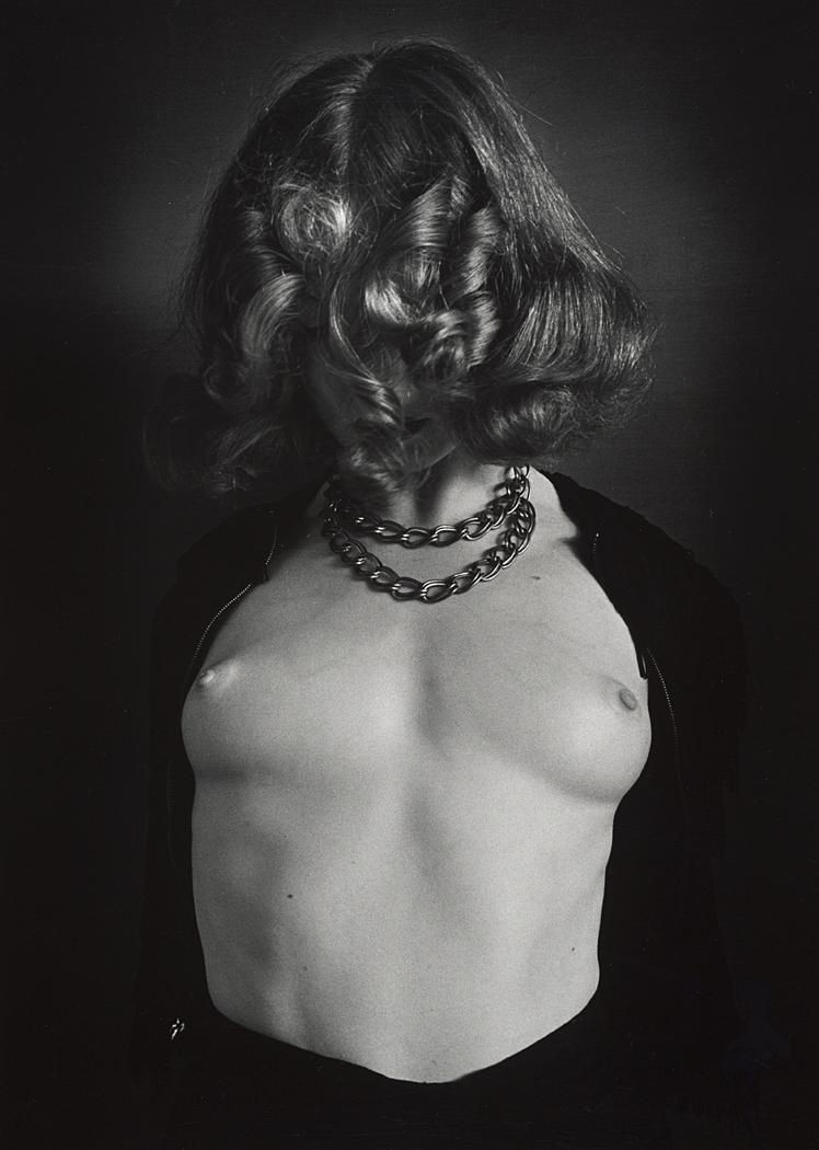John Gutmann-Naked Breasts, Covered Face, 1939