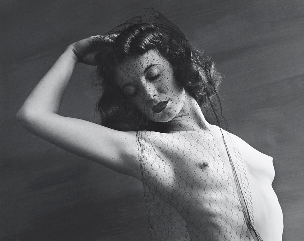 John Gutmann-Naked Save the Veil,1939