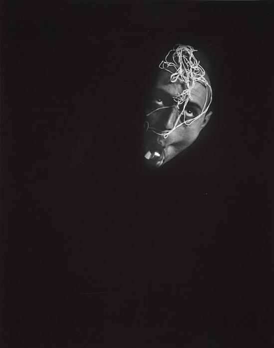 John Gutmann-Protoplasmic Self Portrait, 1937