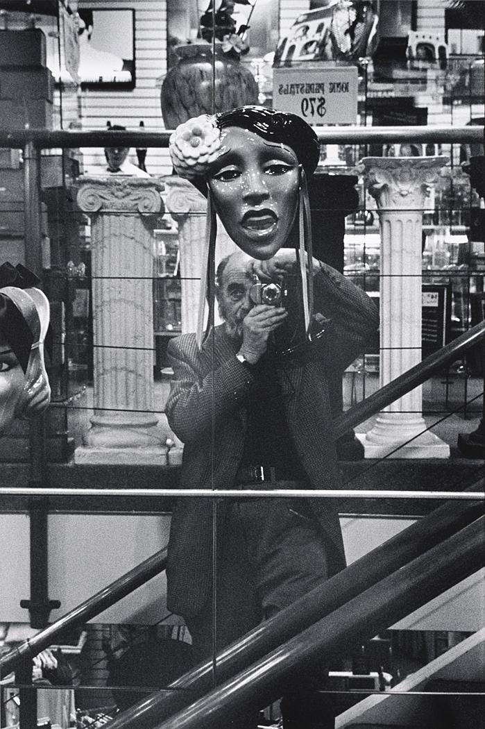John Gutmann-Self-Portrait with Lady Day, 1989