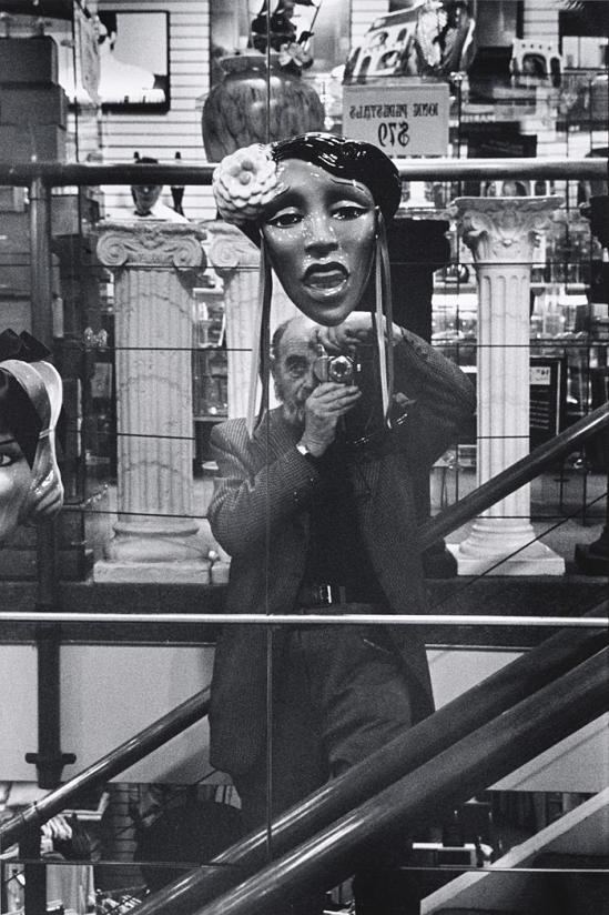 John Gutmann-Self-Portrait with Lady Day, 1989