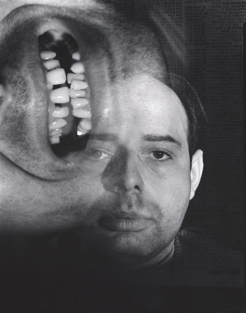 John Gutmann-Self Portrait,Sick, 1934