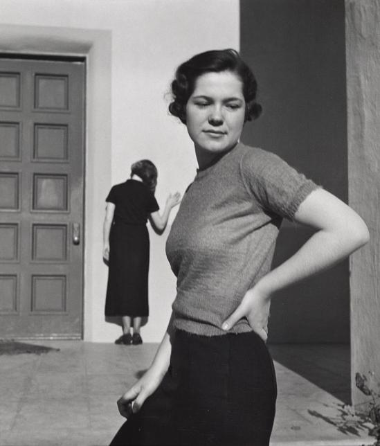 John Gutmann-Shrug of the Shoulder,1935
