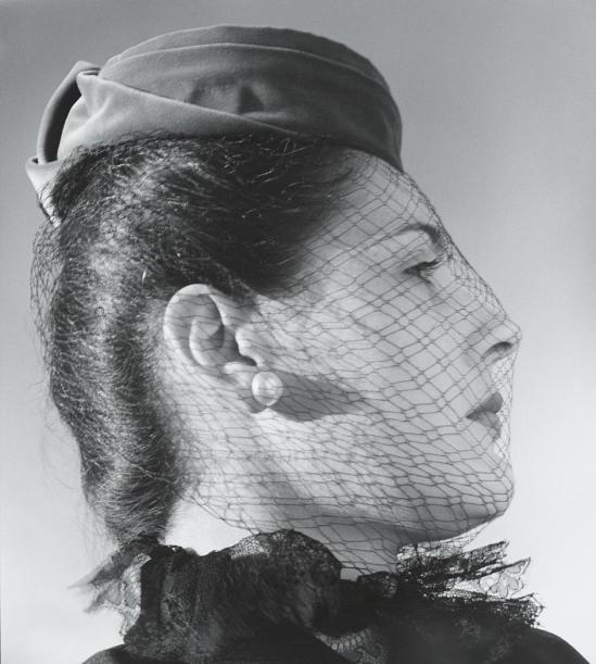 John Gutmann-Veiled Profile,1941