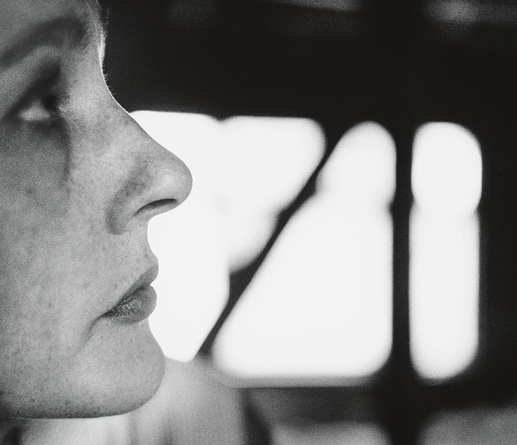John Gutmann-Very Close Profile,1962