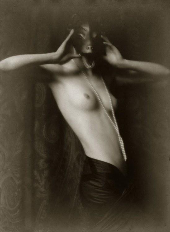 """Mario Von Bucovich-'Naakt avec un masque """"et était Berlin 1927"""