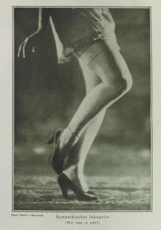 Mario von Bucovich-Incognito publiée dans la revue Des Monats, Janvier, 1928