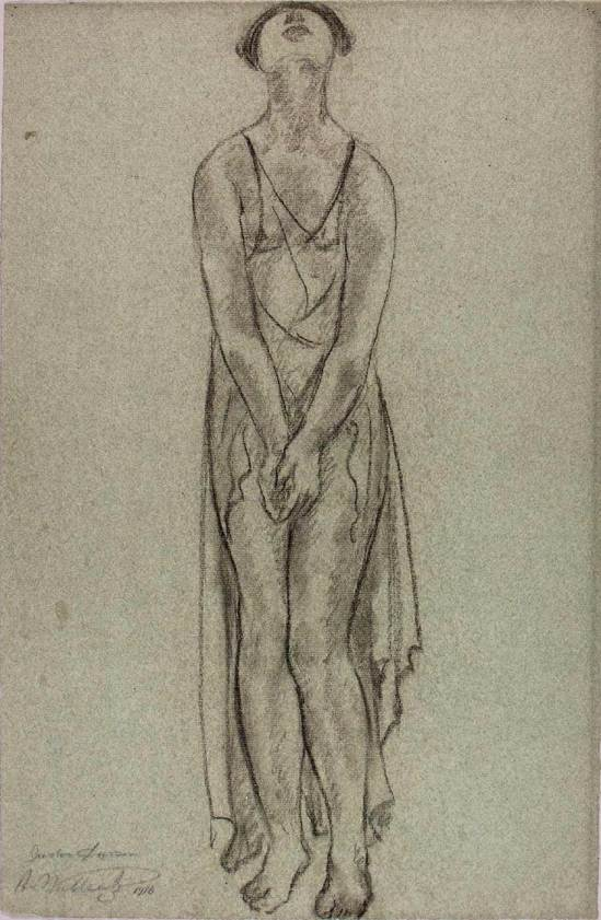 Abraham Walkowitz, Isadora Duncan 1916 charcoal on paper © American Art Museum (2)