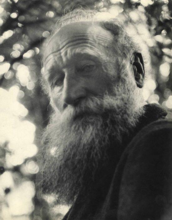 Josef Breitenbach-Aristide Maillol, Marly-Le-Roy, 1934  © The Josef Breitenbach Trust