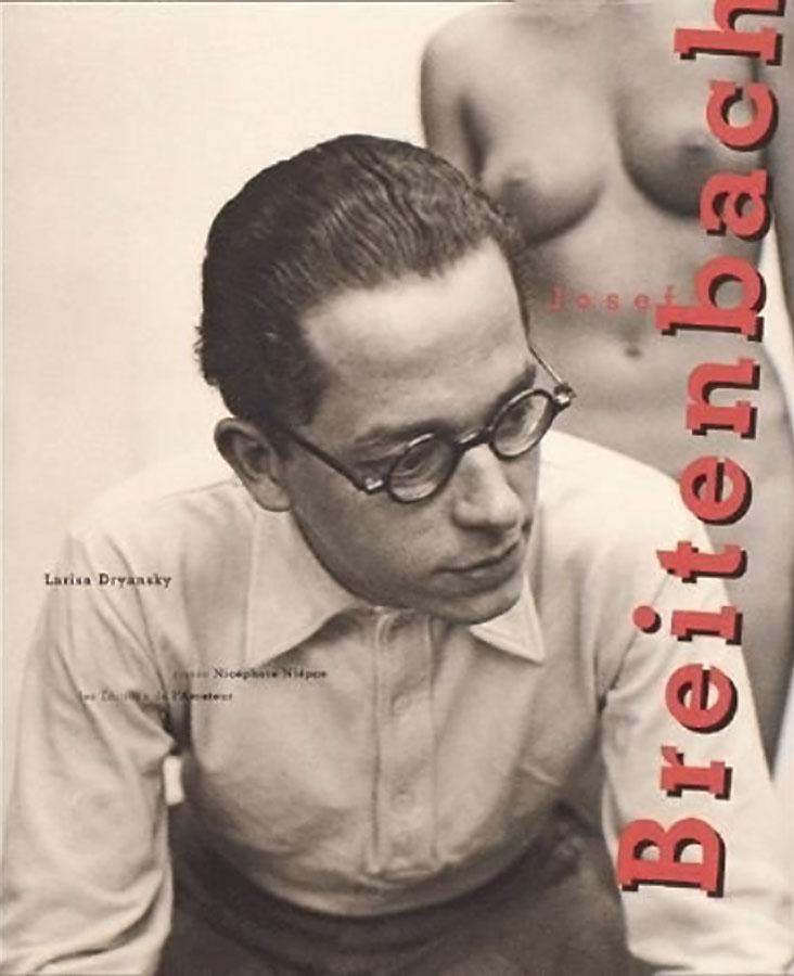 "Cover of the Book ""Josef Breitenbach"" by Larisa Dryansky,  Editions de l'Amateur, 2001"