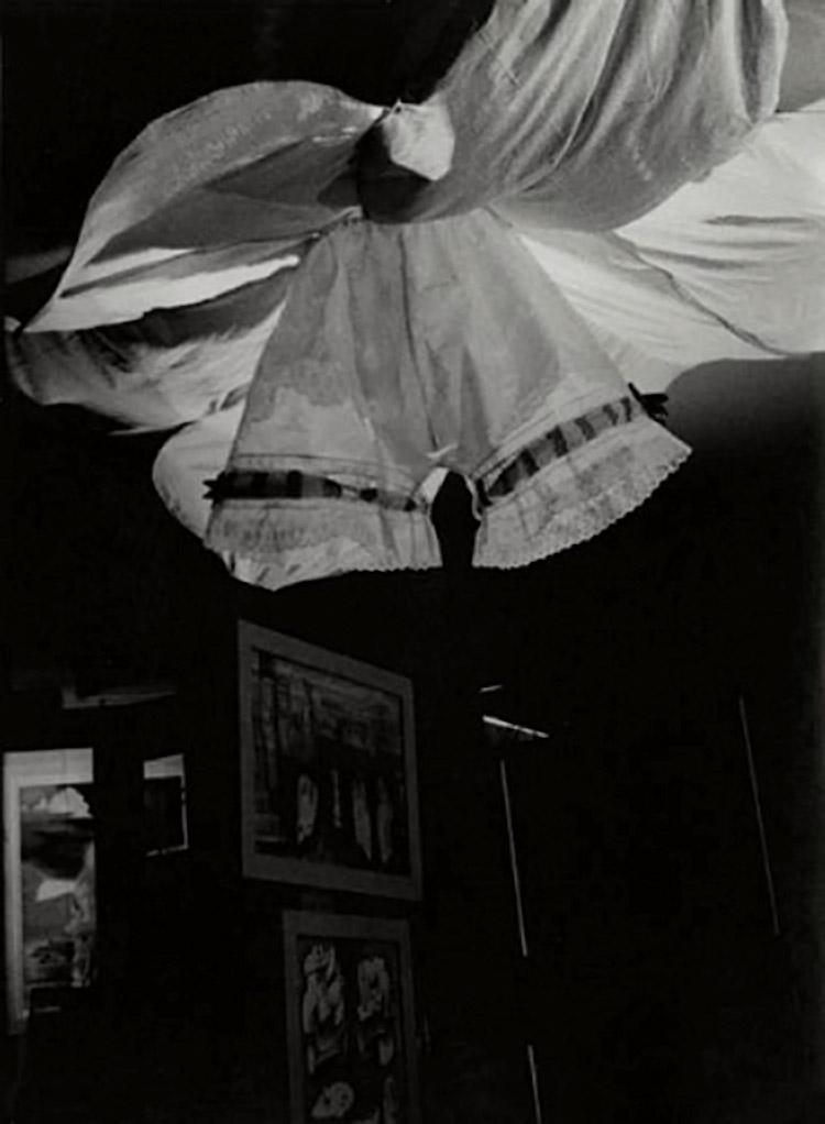 Josef Breitenbach- Exposition Internationale du Surréalisme, Galerie Beaux-Arts, Paris, 1938,  gelatin silver print  © The Josef Breitenbach Trust