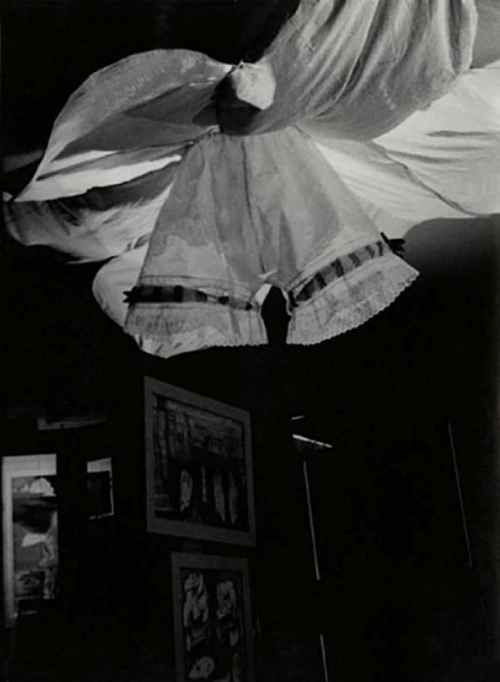Josef Breitenbach- Exposition Internationale du Surréalisme, Galerie Beaux-Arts, Paris, 1938,  gelatin silver print  © The Josef Breitenbach Trust
