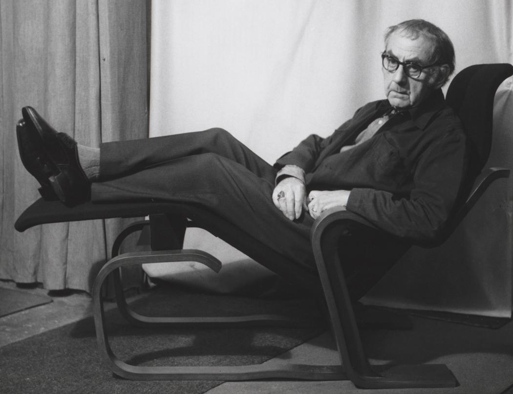 Josef Breitenbach- Portrait of Man Ray, 1967, Gelatin silver print © The Josef Breitenbach Trust.