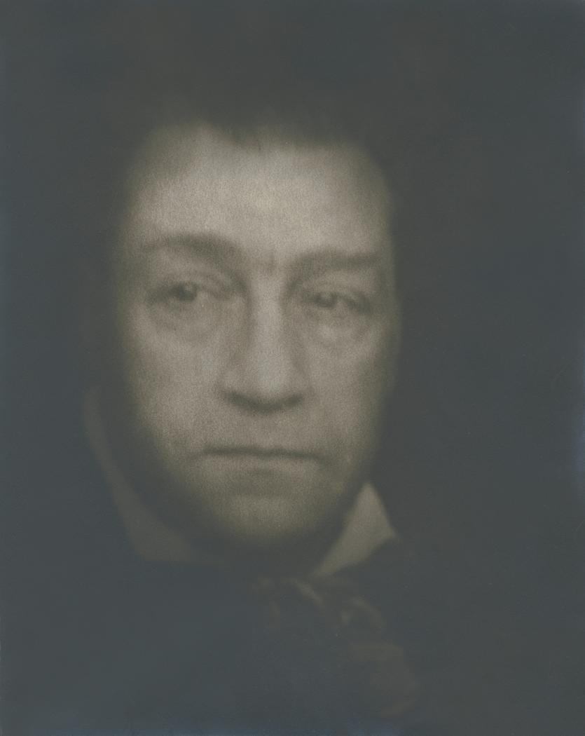Josef Breitenbach- Portrait  of the Actor Sacha Guitry, Paris, 1938, Gelatin silver print © The Josef Breitenbach Trust.