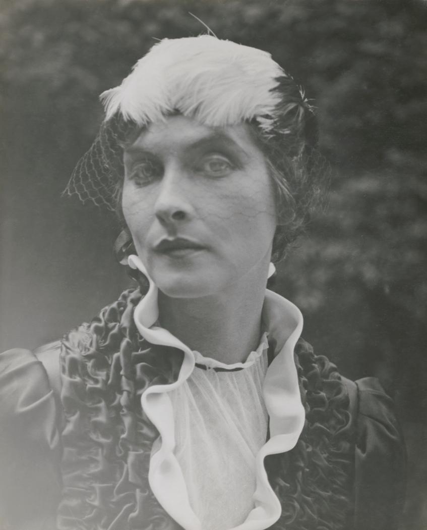 Josef Breitenbach- Portrait of the  actress Sybille Binder, Munich, Before 1933, Gelatin silver print© The Josef Breitenbach Trust.