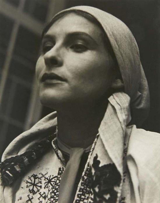 Josef Breitenbach- Portrait of the  actressSybille Binder  Circa 1932, gelatin silver print, © The Josef Breitenbach Trust.