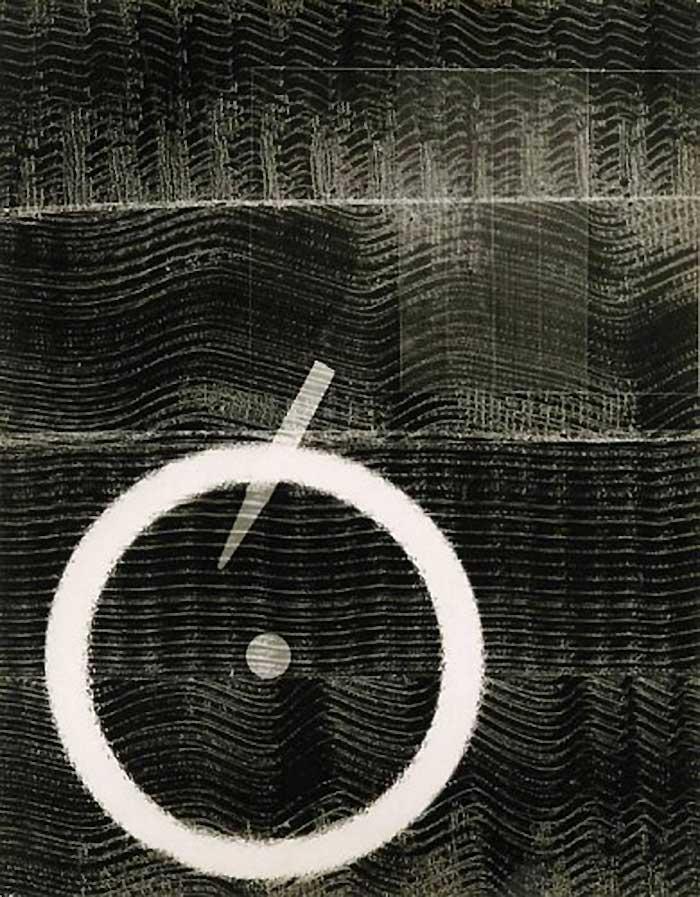 Josef Breitenbach- Untitled photogram, 1948 © The Josef Breitenbach Trust